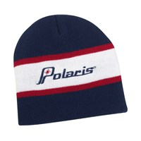 Eagle River Stripe Beanie - Navy