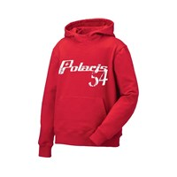 Youth Retro Hoodie- Red
