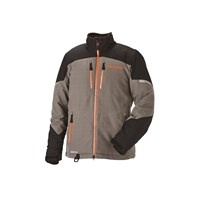 Men's Adventure Pro Jacket - Gray/Orange