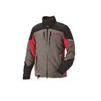 Men's Adventure Pro Jacket - Gray/Red