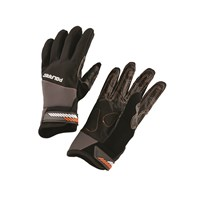 Race Glove - Black Orange