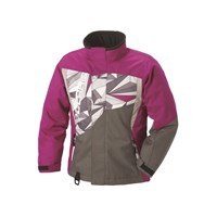 Youth Diva Jacket - Pink Gray