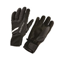 Unisex Level 1 Lightweight Mountain Glove with Adjustable Wrist Straps, Black
