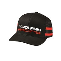 Unisex Adjustable Mesh Snapback Classic Racing Hat with Polaris® Logo