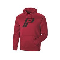 Men's Retro Logo Hoodie - Red