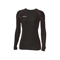 Women's Lightweight Base Layer Top - Black