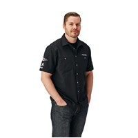 Men's Tech Race Pit Shirt - Black