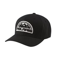 Patch Core Flex Cap (S/M) - Black