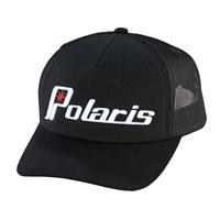 Unisex Adjustable Mesh Snapback Hat with Retro Polaris® Ellipse Logo