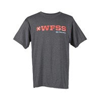 Men's #WFSS Graphic T-Shirt with Polaris® Logo, Charcoal Heather
