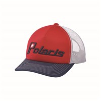 Men's Retro Trucker Cap - Red
