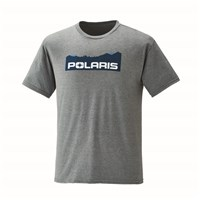 Men's Mountain-Scape Graphic T-Shirt with Polaris® Logo