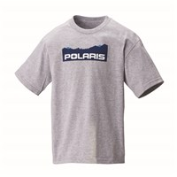 Youth Mountain-Scape Graphic T-Shirt with Polaris® Logo