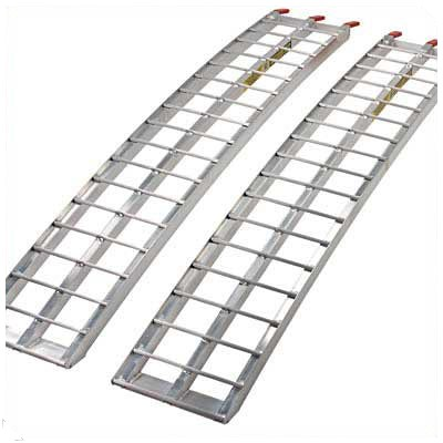Heavy-Duty Aluminum Arched Ramp 88 in. x 12 in.