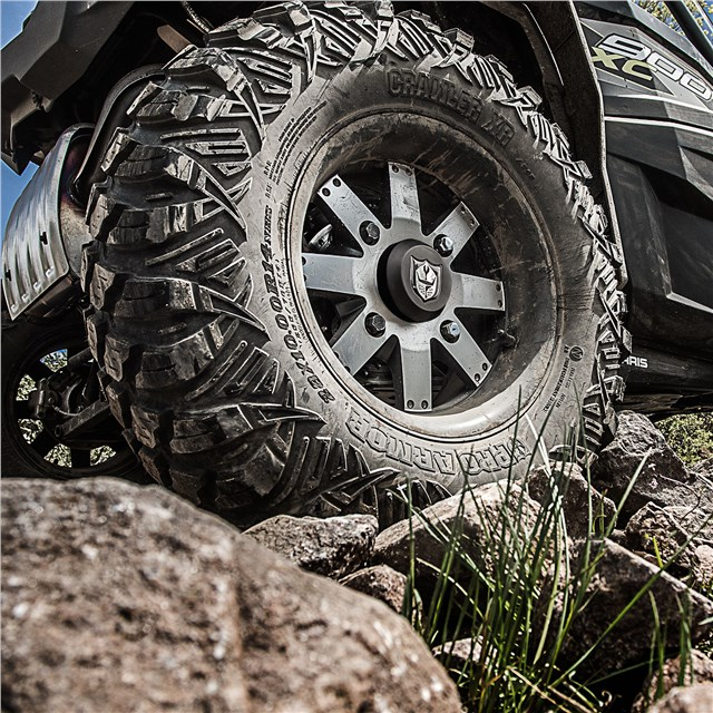 Wheel & Tire Set: Pro Armor® Crawler XR & Amplify- Accent
