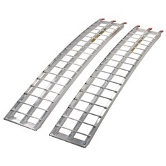 Aluminum Arched Loading Ramp 76 in. x 12 in.