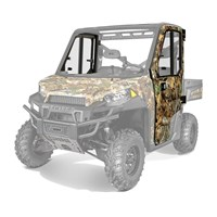 Hinged Glass Window Doors - Poly Camo