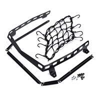 Rack and Net Kit for Rear Cargo Box - Black