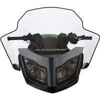 "Sport Performance Flared Windshield - (REV-XR, XU - High 17 ½"")"