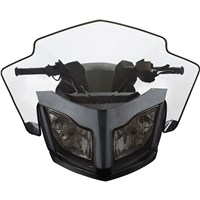 "Sport Performance Flared Windshield - (REV-XR, XU - Medium 14"")"