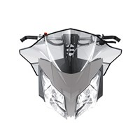 Sport Performance Flared Windshield  - Medium - (REV-XM, XS)
