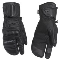 Leather Hybrid Mitts