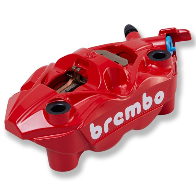 Brembo Left Front Brake Caliper, Red