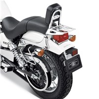 Passenger Backrest Chrome
