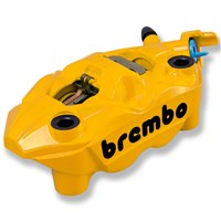 Brembo Right Front Brake Caliper, Yellow