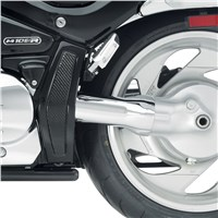 Chrome Driveshaft Cover