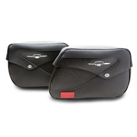 Classic Leather Saddlebags