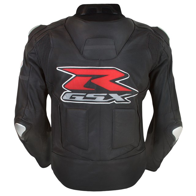 Gsx-R Leather Jacket, Black