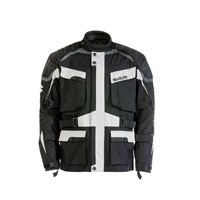 Suzuki Adventure Jacket Black/Gray