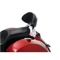 Lock & Ride® Passenger Backrest - Chrome by Victory Motorcycles