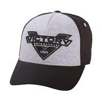 Marl Hat - Black/Gray by Victory Motorcycles®