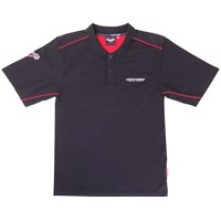 Men's Brand Polo Shirt - Black by Victory Motorcycles®