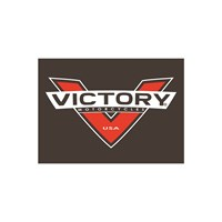 Red-V Leather Patch by Victory Motorcycle