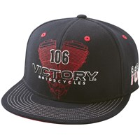 Engine Hat - Black by Victory Motorcycles