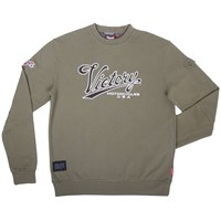 Mens Engine Power Sweatshirt - Khaki by Victory Motorcycles