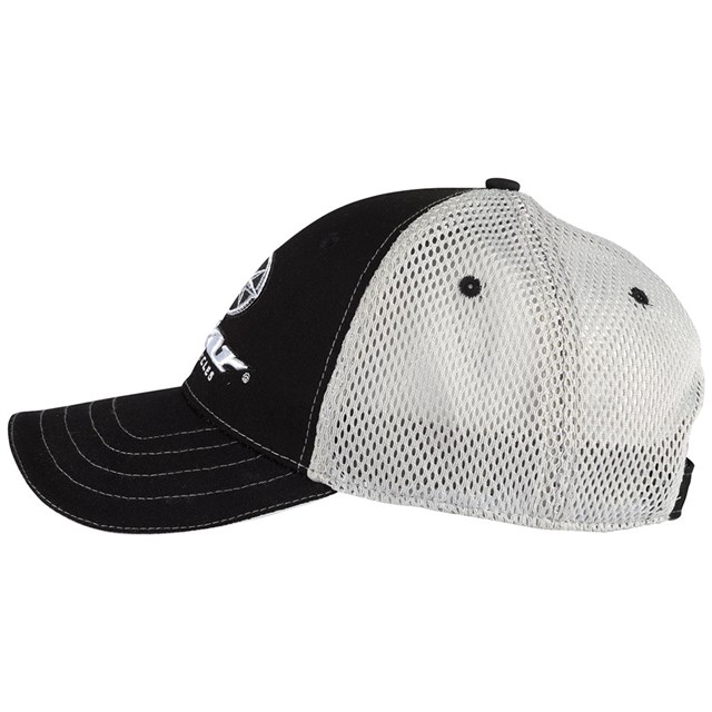Star® Motorcycles Black and White Mesh Hat