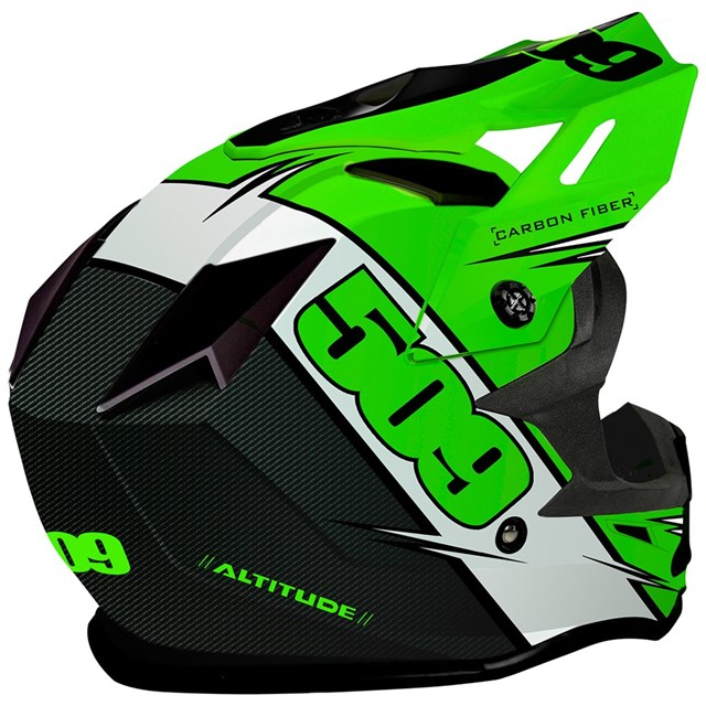 Altitude Carbon Fiber Helmet by 509®