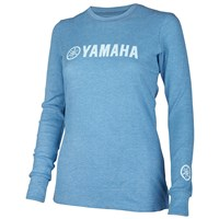 Women's Yamaha Heathered Royal Thermal Tee