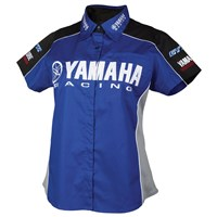 Women's Yamaha Racing Button Down