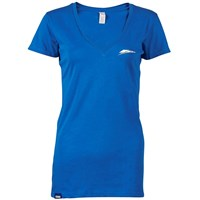 Women's Tracks Speed Block V-Neck Tee