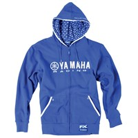 Yamaha Racing Zip-Up Hooded Sweatshirt by Factory Effex™