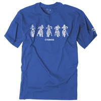 Yamaha Youth Lineup Tee by Factory Effex