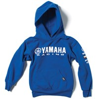 Yamaha Racing Youth Pullover Hooded Sweatshirt by Factory Effex