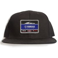 Yamaha Racing Team Black Snapback Hat by Factory Effex
