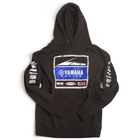 Yamaha Racing Team Black Pullover by Factory Effex