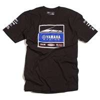 Yamaha Racing Team Black Tee by Factory Effex